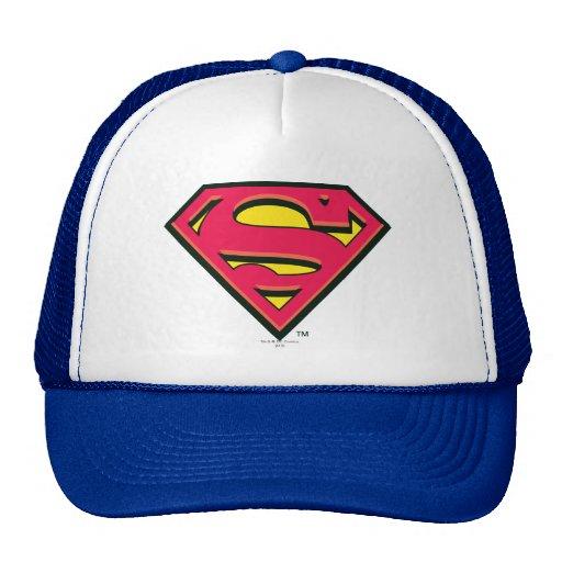 Superman Classic Logo Trucker Hats