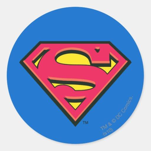 Superman Classic Logo Sticker