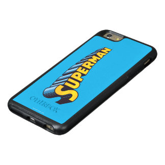Superman | Classic Name Logo OtterBox iPhone 6/6s Plus Case