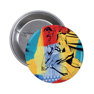Superman Colorful 6 Cm Round Badge