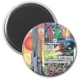 Superman Comic Panel - Clark's Origins Magnet