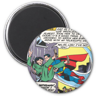 Superman Comic Panel - Lois An Instant Later Magnet