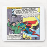 Superman Comic Panel - Lois An Instant Later Mousemat