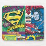 Superman Comic Panels Mousepads