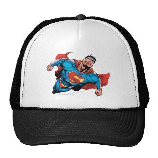 Superman Comic Style Trucker Hat