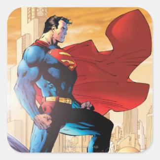 Superman Daily Planet Square Sticker