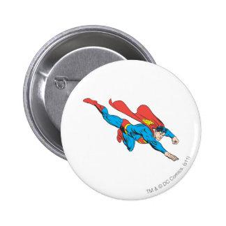 Superman Dives Right 6 Cm Round Badge