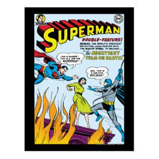 Superman (Double-Feature with Batman) Postcard