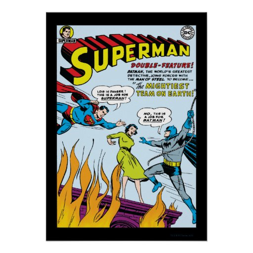 Superman (Double-Feature with Batman) Posters