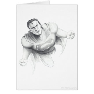 Superman Drawing Card