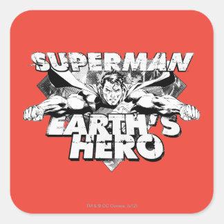 Superman Earth's Hero Stickers