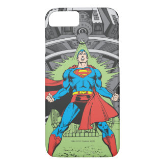 Superman Exposed to Kryptonite iPhone 7 Case