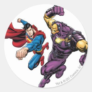 Superman Fights Enemy 2 Sticker