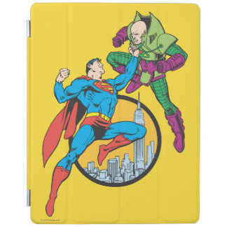 Superman Fights Lex Luthor iPad Cover