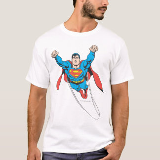 Superman Flies Forward T-Shirt