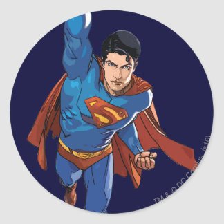 Superman Flying Forward Sticker