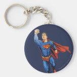 Superman Flying Left Keychains