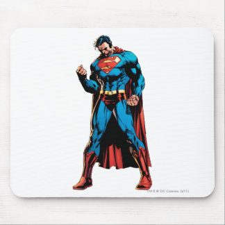 Superman  - Hand in fist Mousepad