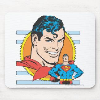 Superman Head Shot Mouse Pad