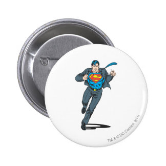 Superman in Business Garb 6 Cm Round Badge