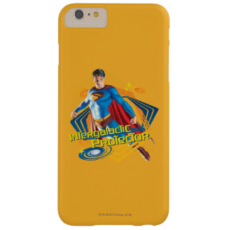 Superman Intergalactic Protector Barely There iPhone 6 Plus Case
