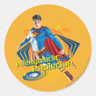 Superman Intergalactic Protector Stickers