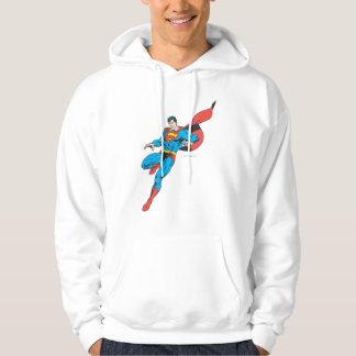 Superman Lands Lightly 2 Hoodie