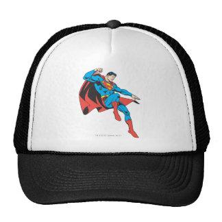Superman Lands Lightly Trucker Hats