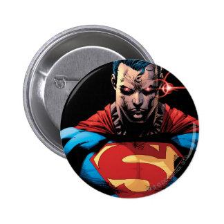 Superman - Laser Vision 6 Cm Round Badge