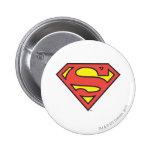 Superman Logo 6 Cm Round Badge