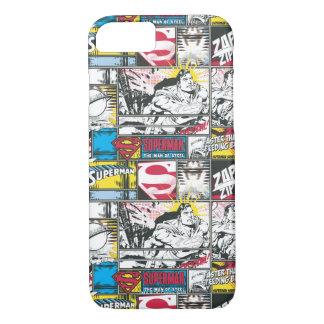 Superman Logo Pattern 2 iPhone 7 Case
