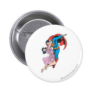 Superman & Lois in Pink 6 Cm Round Badge