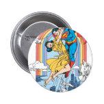 Superman & Lois in Yellow 6 Cm Round Badge