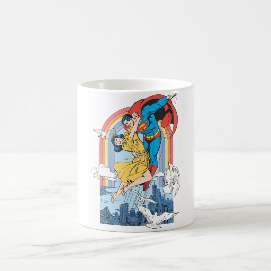 Superman & Lois in Yellow Coffee Mug