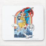 Superman & Lois in Yellow Mouse Pad
