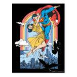 Superman & Lois in Yellow Postcard