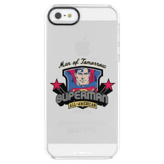 Superman - Man of Tomorrow Clear iPhone SE/5/5s Case