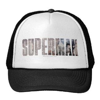 Superman Name Hats