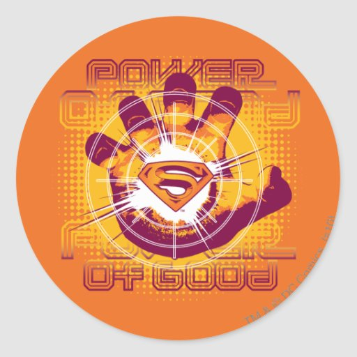 Superman Power of Good Stickers