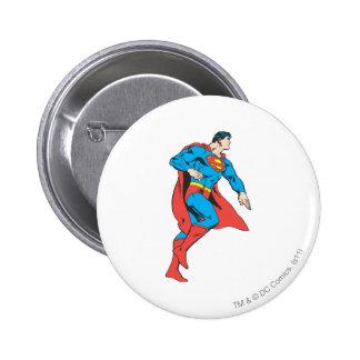 Superman Profile 6 Cm Round Badge