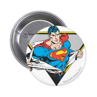Superman Revealed 6 Cm Round Badge