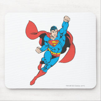 Superman Right Fist Raised Mouse Pad