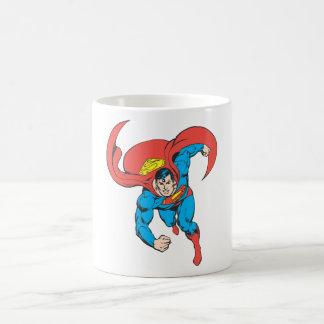 Superman Runs Forward Coffee Mug