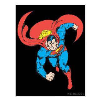 Superman Runs Forward Postcard