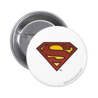 Superman S Sheild 6 Cm Round Badge
