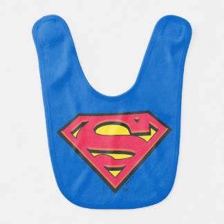 Superman S-Shield   Classic Logo Bib