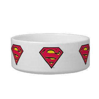 Superman S-Shield | Classic Logo Pet Water Bowl