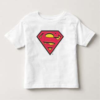 Superman S-Shield | Classic Logo Toddler T-Shirt