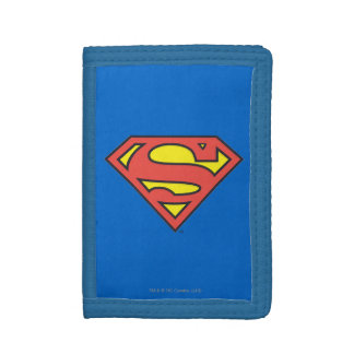 Superman S-Shield | Classic Logo Tri-fold Wallet