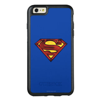Superman S-Shield | Darkened Red Logo OtterBox iPhone 6/6s Plus Case